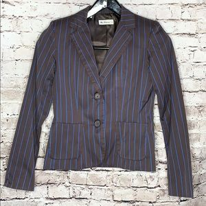 Ben Sherman fitted striped blazer size small